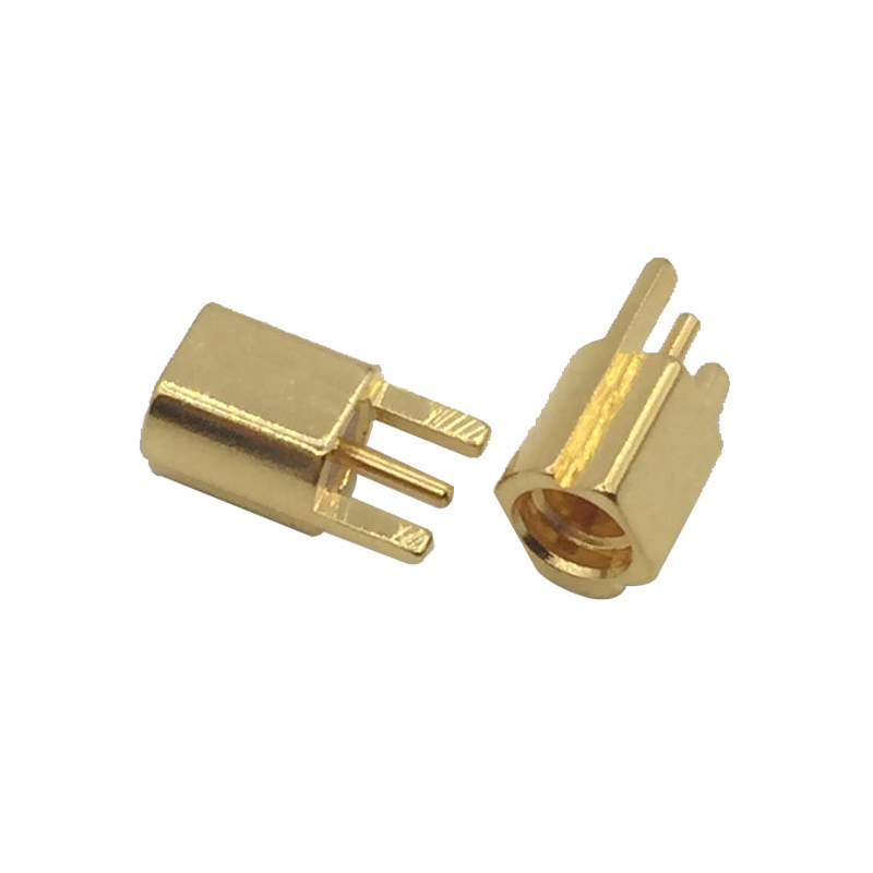 RF Connector MMCX female straight right angle PCB cable Connector
