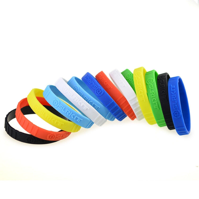 DSLRKIT Silicone Lens Rubber Ring Bracelet Wristbands SET (7 colors, 14PCS)