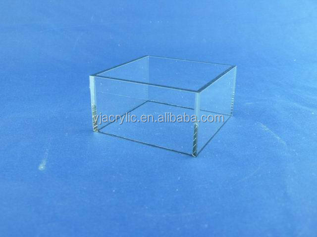 Transparent wholesale acrylic boxes waterproof, plexiglass boxes waterproof with high quality