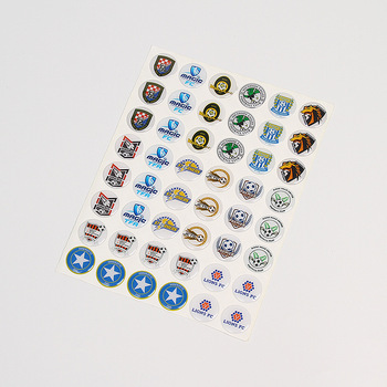 Custom 3D Clear Dome Epoxy Resin Sticker