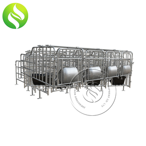 Pig Farm Double/Single Pig Cages Farrowing/Gestation Crates For Sale