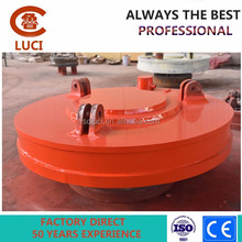 Electric permanent lifting magnet for scrap