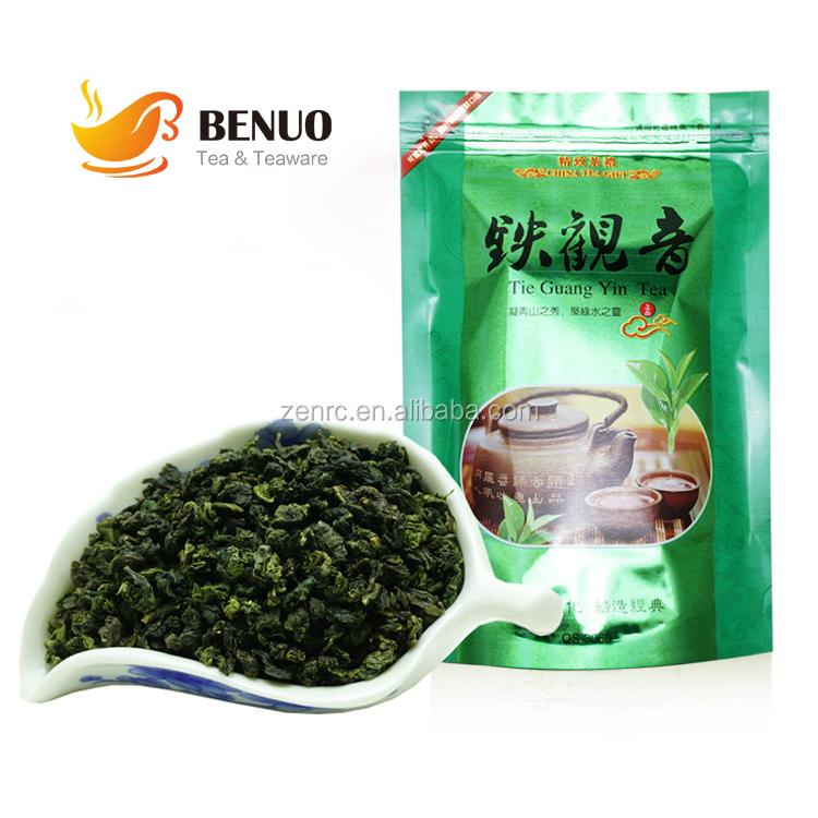 Fujian Strong Fragrance Tie Guanyin Oolong Tea with 250g Printed Tea Bags - 4uTea | 4uTea.com