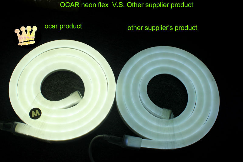Customize Solid Easy Bend Led Neon Rope Light