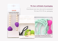 Silicone Nursing Jewelry Amber Teething Necklace South Africa ...