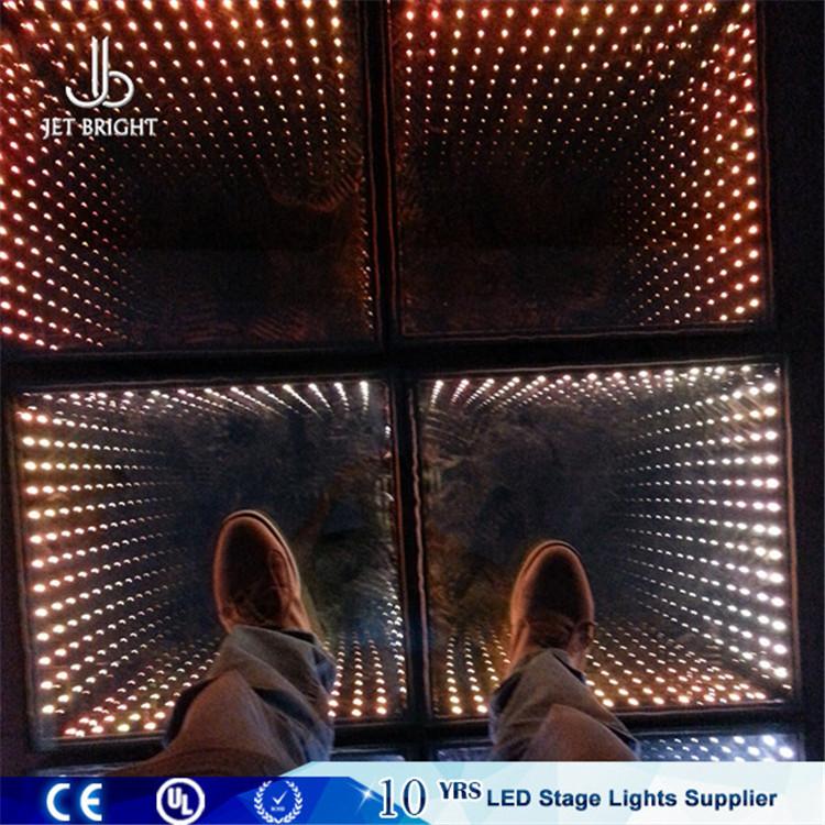 3D Mirror Dmx Led Dance Floor Tiles