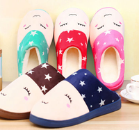 free sample Unisex Home Indoor Slipper Shoes Men and Women Winter Soft Warm Slippers