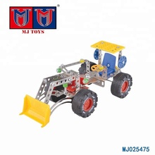 Assembling educational toys engineering diy car for kids