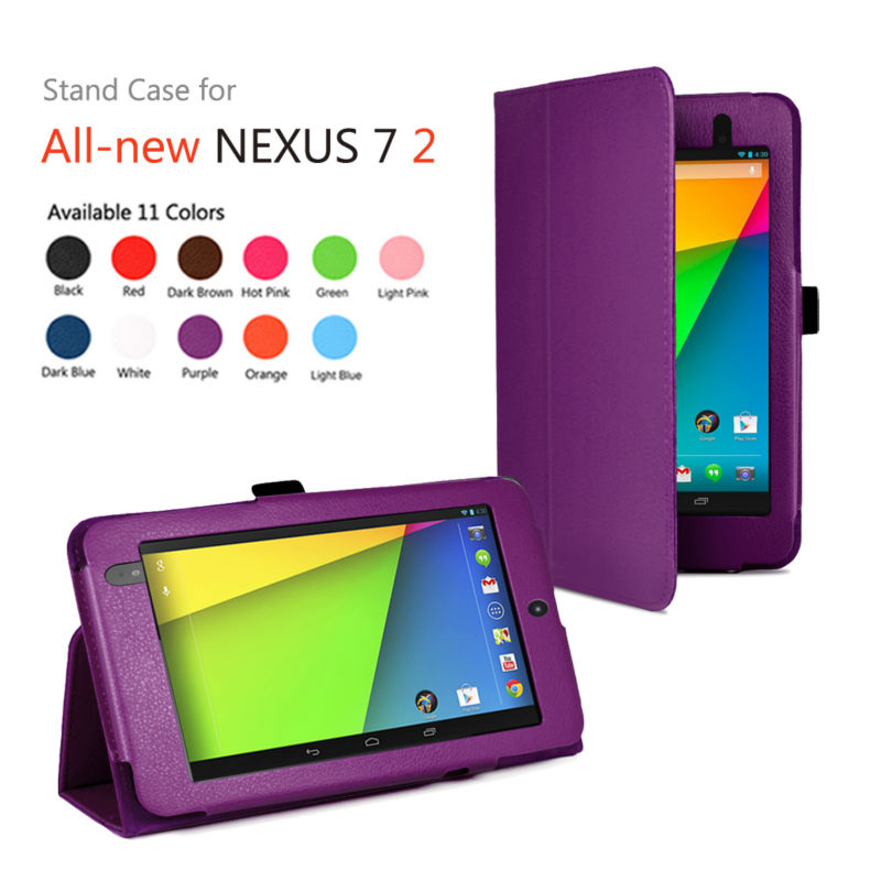 factory new tablet leather case for google nexus 7 /made in china