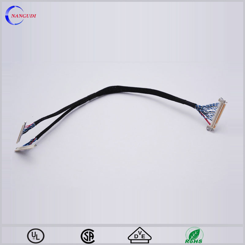 50 pin 1 to 2 lvds cable