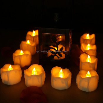 LED Tealight Flicker Tea Battery Candle Light Party Propose Holiday Wedding Safety Candles
