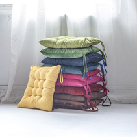Europe Plain Comfortable Manufacture Multicolor Velvet Corduroy Square Seat Back Indoor Window Pads color sofa Cushion