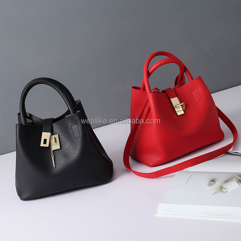 2017 New Fashion Woman Shoulder Bags Handbags Women Bags High Quality PU <strong>Totes</strong> Women(GB-17186)
