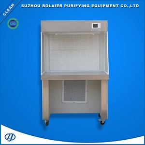 Use LED liquid crystal panel to control clean room furniture clean bench