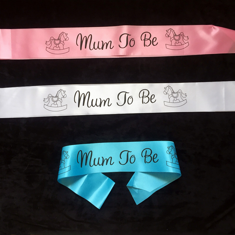 Mommy To Be Sash Birthday Party Decorations Kids Baby Shower Sash Newborn Party Decoration Mom Gifts