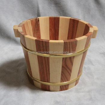 Small Wooden Barrel Flower Pots And Planters Outdoor Whiskey Barrel