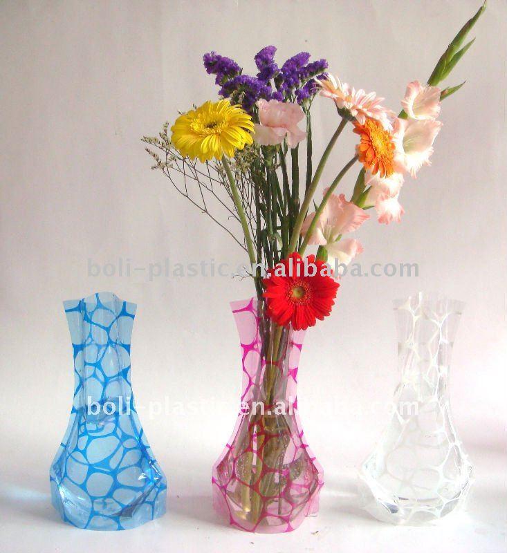 Plastic Folding Flower Vase Disposable Buy Disposable Flower Vase