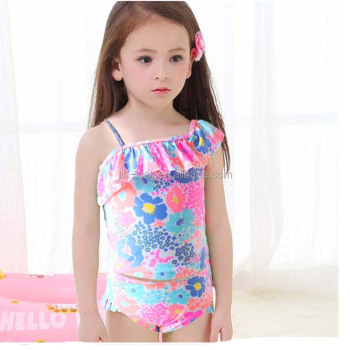 bdef7d014c2 Summer Girls' One Piece Swimsuit cute children kids swimwear baby bikini  swimsuit