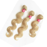 100% Wholesale Factory Price High Quality Cuticle Aligned 613 Hair Body Wave Human Hair Bundles