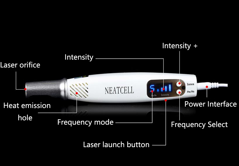 Portable Blue light Home Picosecond Laser Mole Dark Spot Acne Scar Pigment Pen