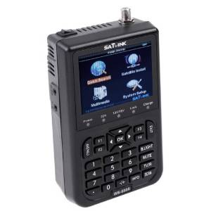 """SODIAL(R)SATlink WS-6908 3.5"""" DVB-S FTA Professional Digital Satellite Signal Finder Meter"""