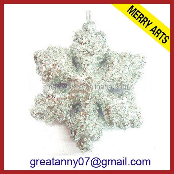 China Glitter Foam Snowflake, China Glitter Foam Snowflake