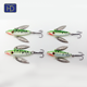 HYD-GF-IJ007 5.0cm/7g Lead Head Ice fishing jigs