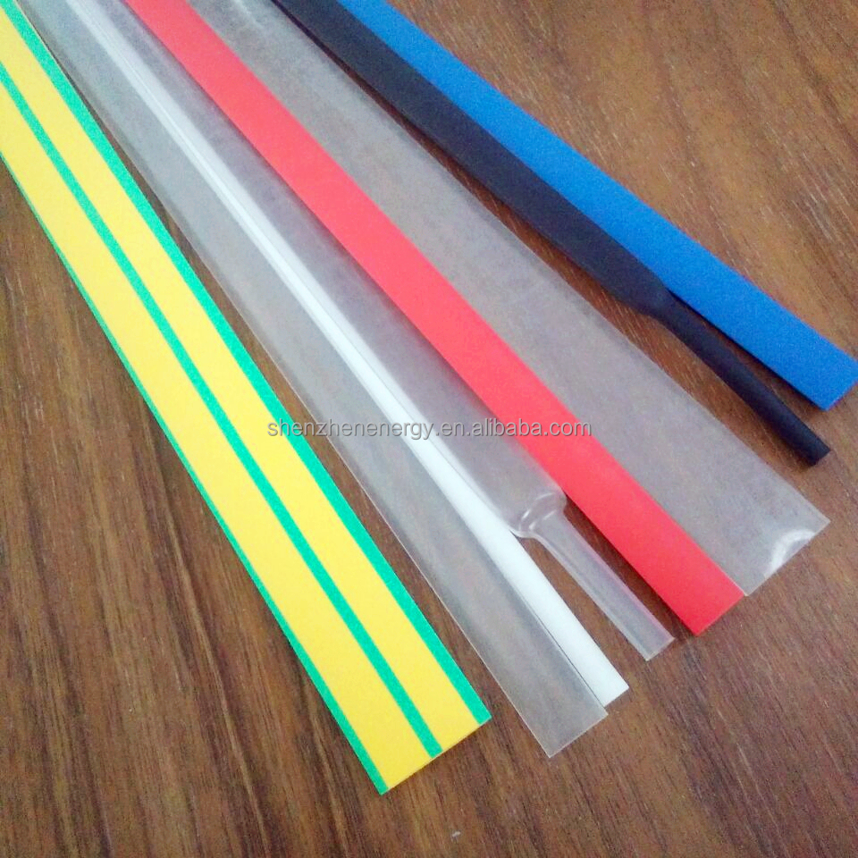 Hot Sales Halogen Free Thin Wall Clear Heat Shrink Tube