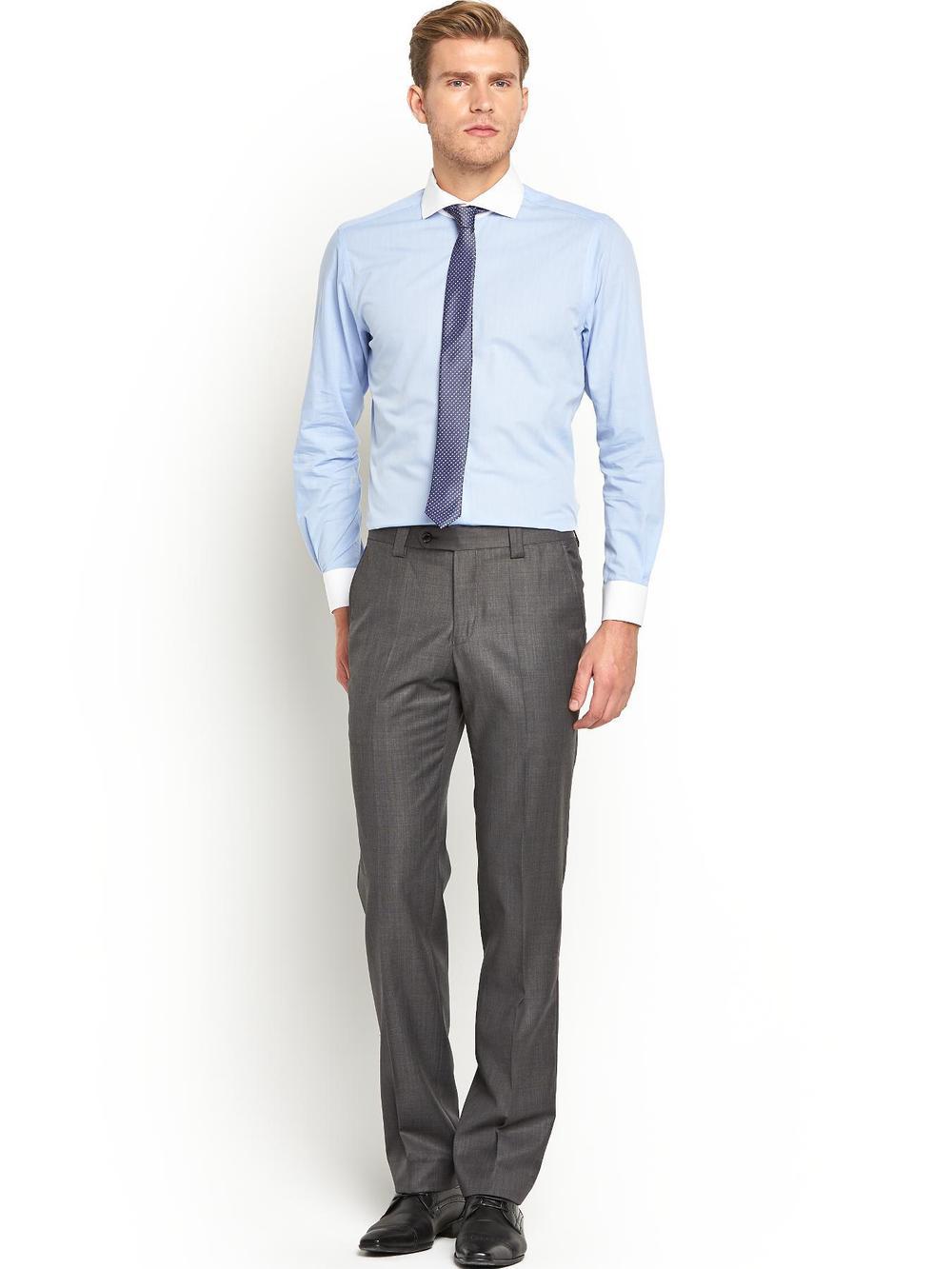 Mens Cutaway Collar Formal Shirt U0026 Pants - Buy Formal Shirts U0026 PantsMens Cutaway Collar Shirt ...