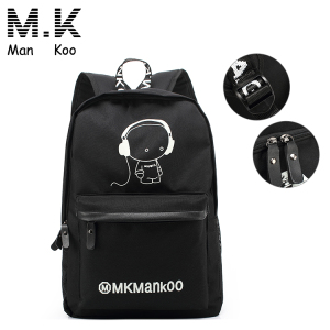 New design kids child canvas backpack school bag