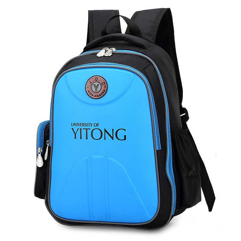 2016 High Quality Load Lightening Spinal Care Waterproof Nylon Unisex Child Backpacks Kids School Bag mochila escolar L145