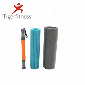 Tiger Fitness epp high density closed cell foam roller producer yoga roller , hollow spike type roller foam