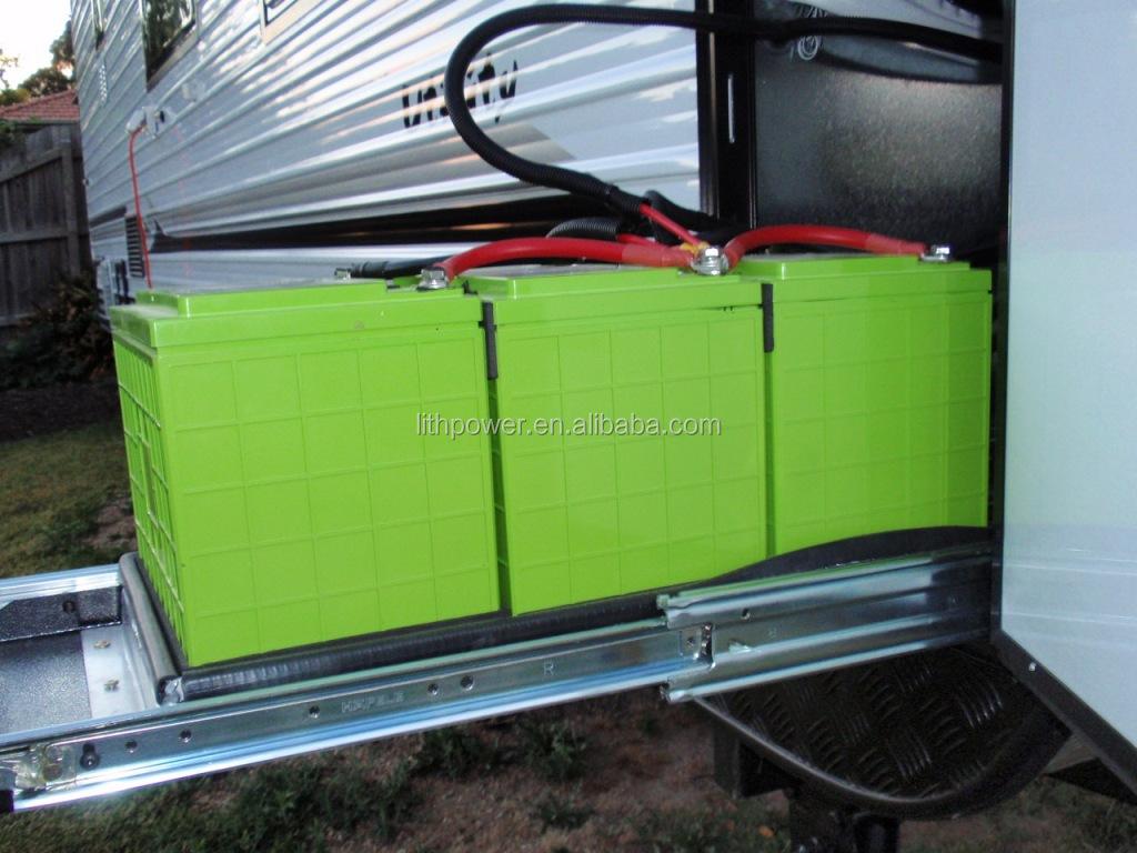 12 v 200ah bater a de litio para caravana casa m vil - Bateria para casa ...