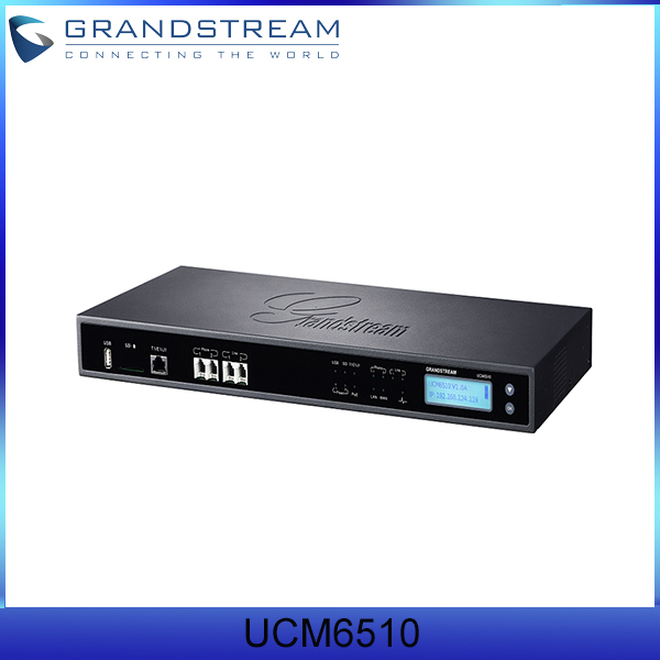 Grandstream Ip Pbx Appliance Ucm6510 Support E1/t1/j1 Network ...