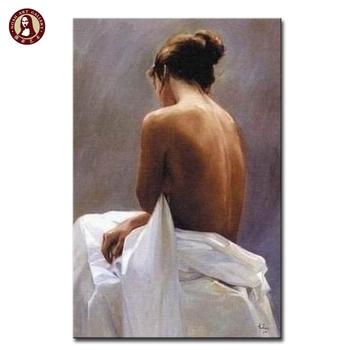 Impresionista Mujeres Espalda Desnuda Pintura De Aceite Para El