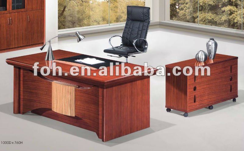Solid Cherry Wood Furniture Office Desk, Office Furniture Solid Wood Computer Desk(FOHY-7820)