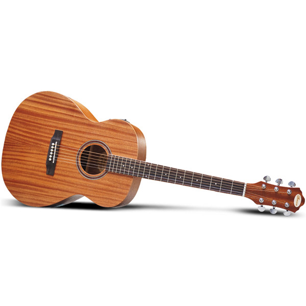 [TL-0033 1940E] 41Inch Sandal Wood Acoustic Electric Guitar Melody Electric Box Guitar