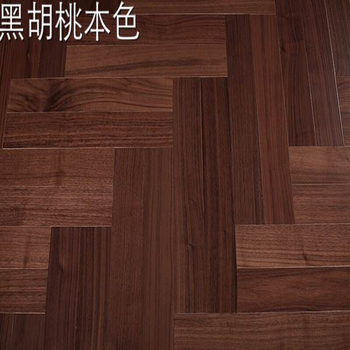 Selected Ab Grade Black Walnut Color Oak Solid Hardwood Flooring