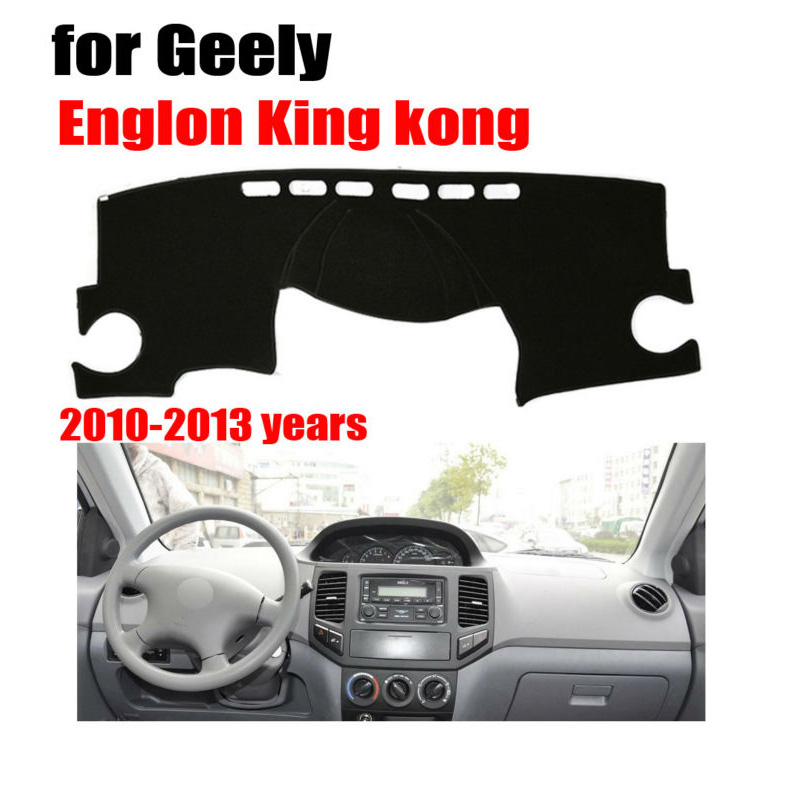Car dashboard covers mat for Geely Englon king kong 2010-2013 Left hand drive dashmat pad dash cover auto dashboard accessories