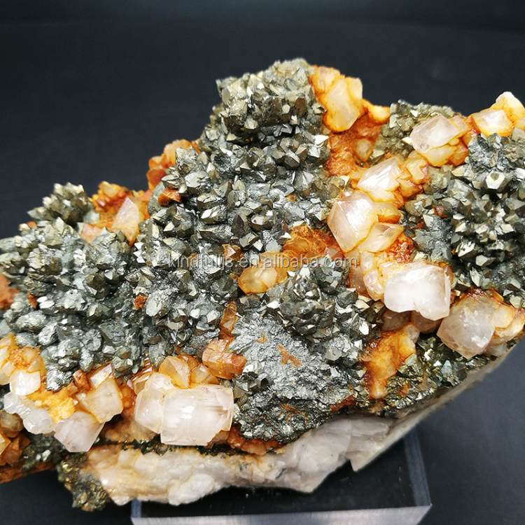Natural calcite iron ore price mineral specimen gemstone