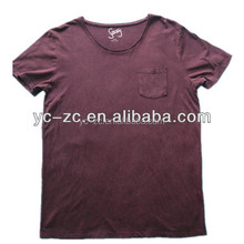 New style blank fashion towel material t-shirt