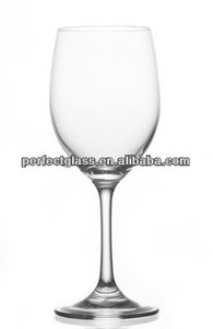 12oz 350ml hand blown lead free crystal wine glasses