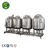 Fresh 2BBL Micro Beer Production Machinery Line Restaurant Beer Brewery Equipment