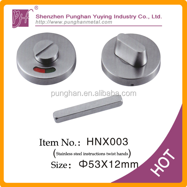 Round Stainless Steel cup handle with keyholes,suitable for anti-theft doors