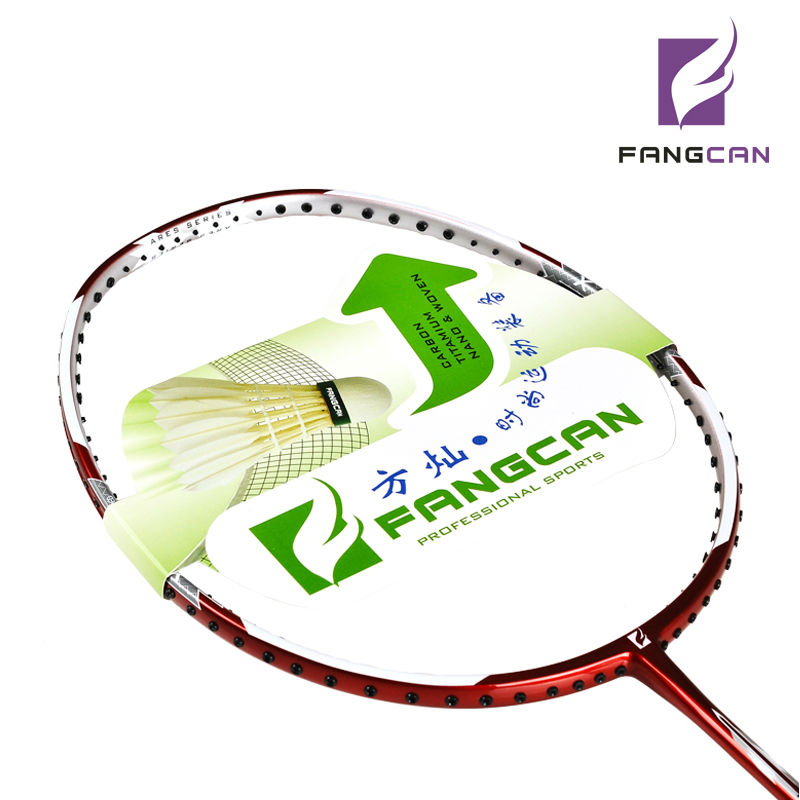 FANGCAN AERS S300 Badminton Racket Carbon fibre Special Frame Offensive and Defensive Red