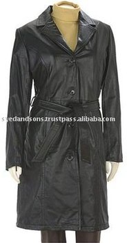 Ladies Leather Coat Art No: 1379