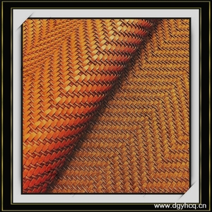 Best-selling microfiber woven leather and cotton carpets synthetic weave leather rugs