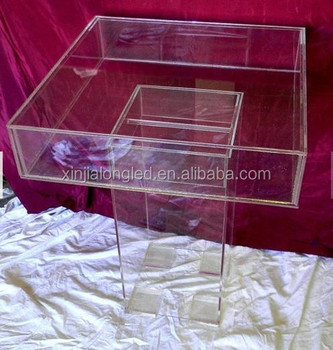 Acrylic Cake Table Pure Acrylic Wedding Table Gamming