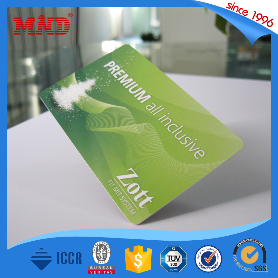 MDCL769 Compatible F08 Classic 1K rfid card/NFC business card