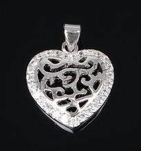Gets.com 925 sterling silver sterling silver heart locket pendant